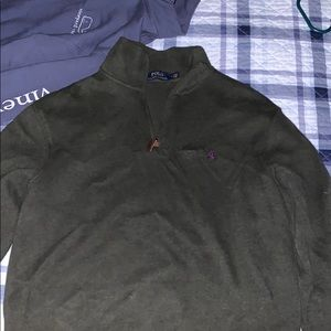 Polo quarter zip